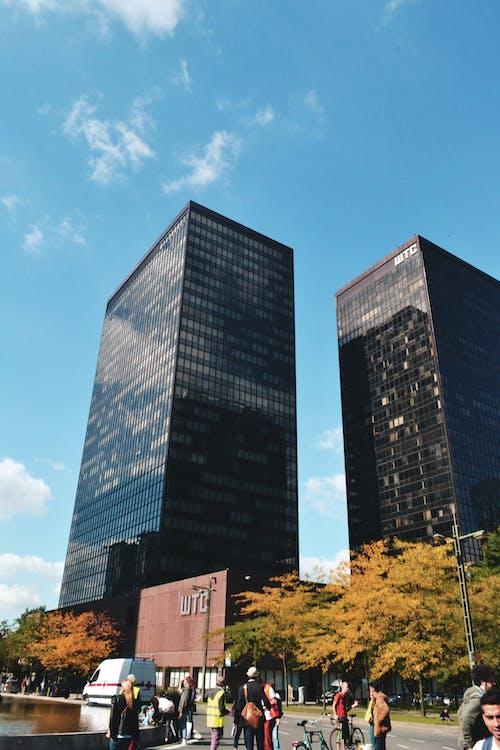 Photos gratuites de bâtiment, Belgique, bruxelles, centre du commerce mondial