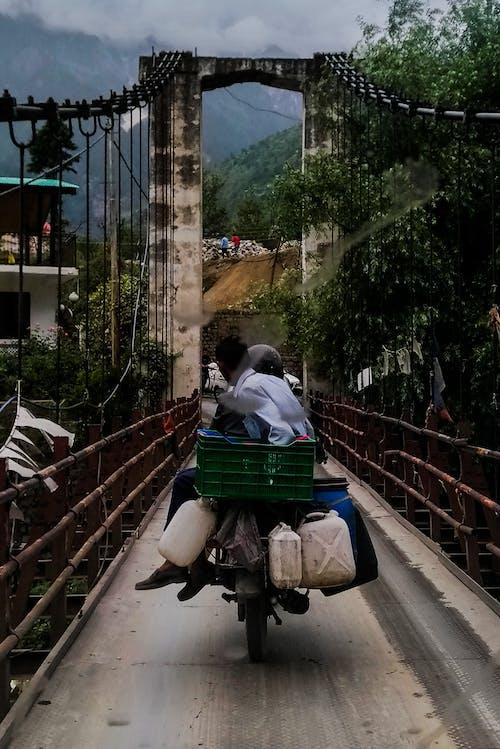 Immagine gratuita di benzina, bicicletta, colline, manali