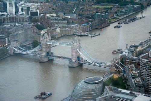 Photos gratuites de londres, Tower Bridge, ville