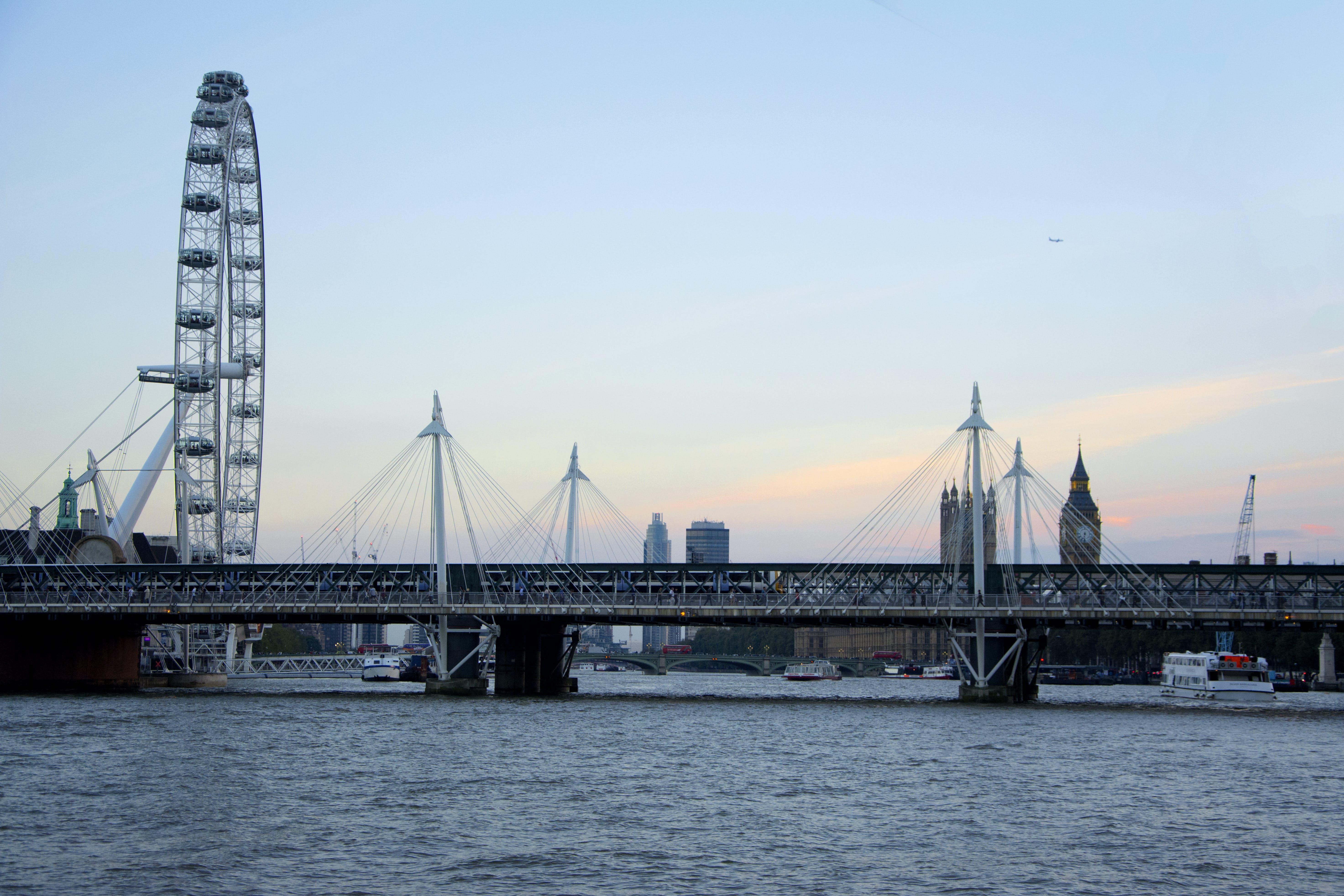 Free stock photo of city, london, london eye