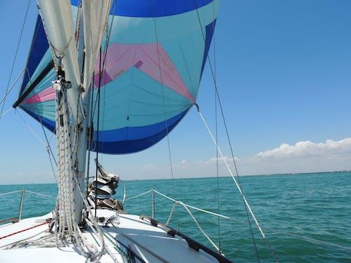 Foto profissional grátis de barco, barco a vela, convés, corpo d'água