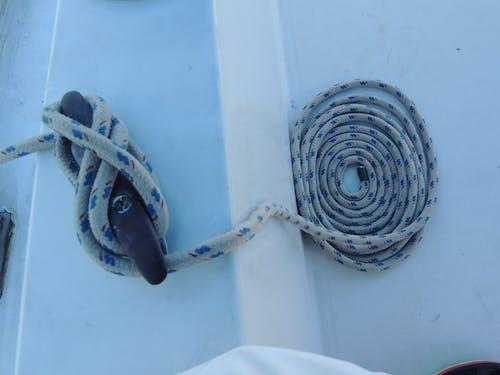 Fotobanka sbezplatnými fotkami na tému krútené laná, laná, lano, loď