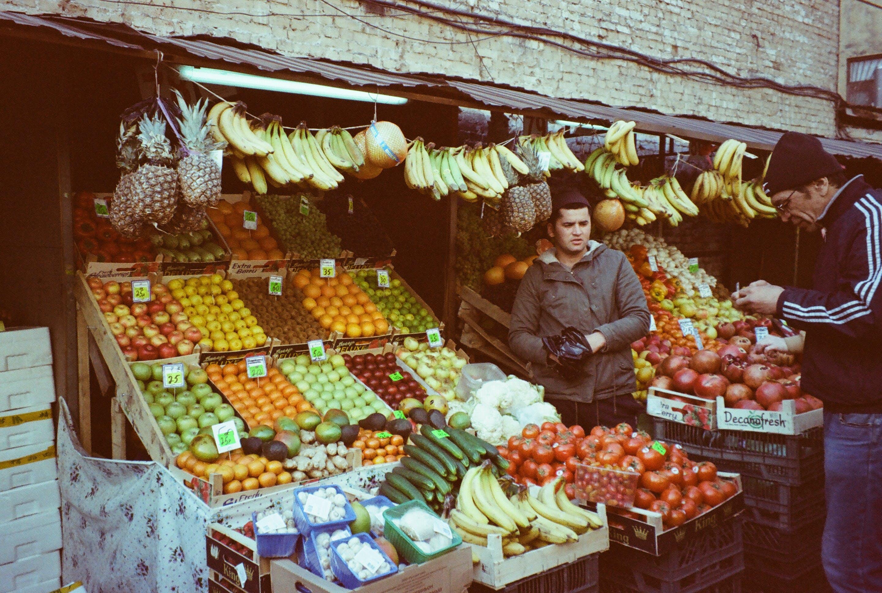 Gratis lagerfoto af aktier, assorteret, bod, frisk grøntsag