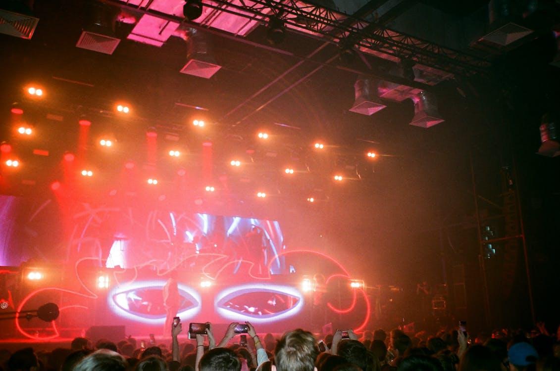 コンサート, ステージ, スポットライト