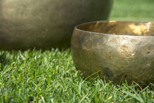 Free stock photo of bowl, sound, tone, aura
