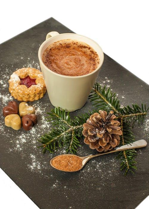 Gratis lagerfoto af chokolade, cookie, drink, kakao