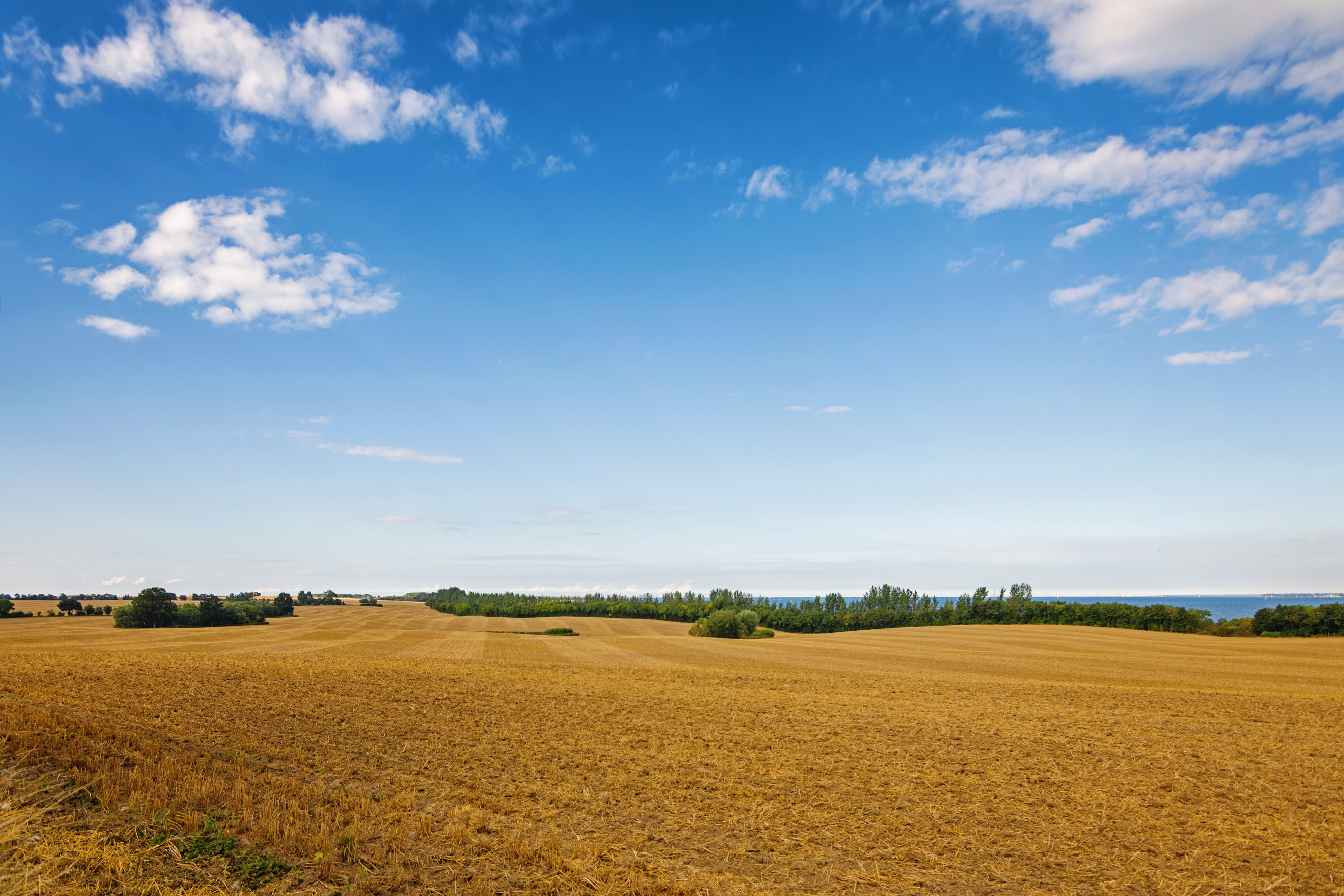 agriculture, arable, clouds