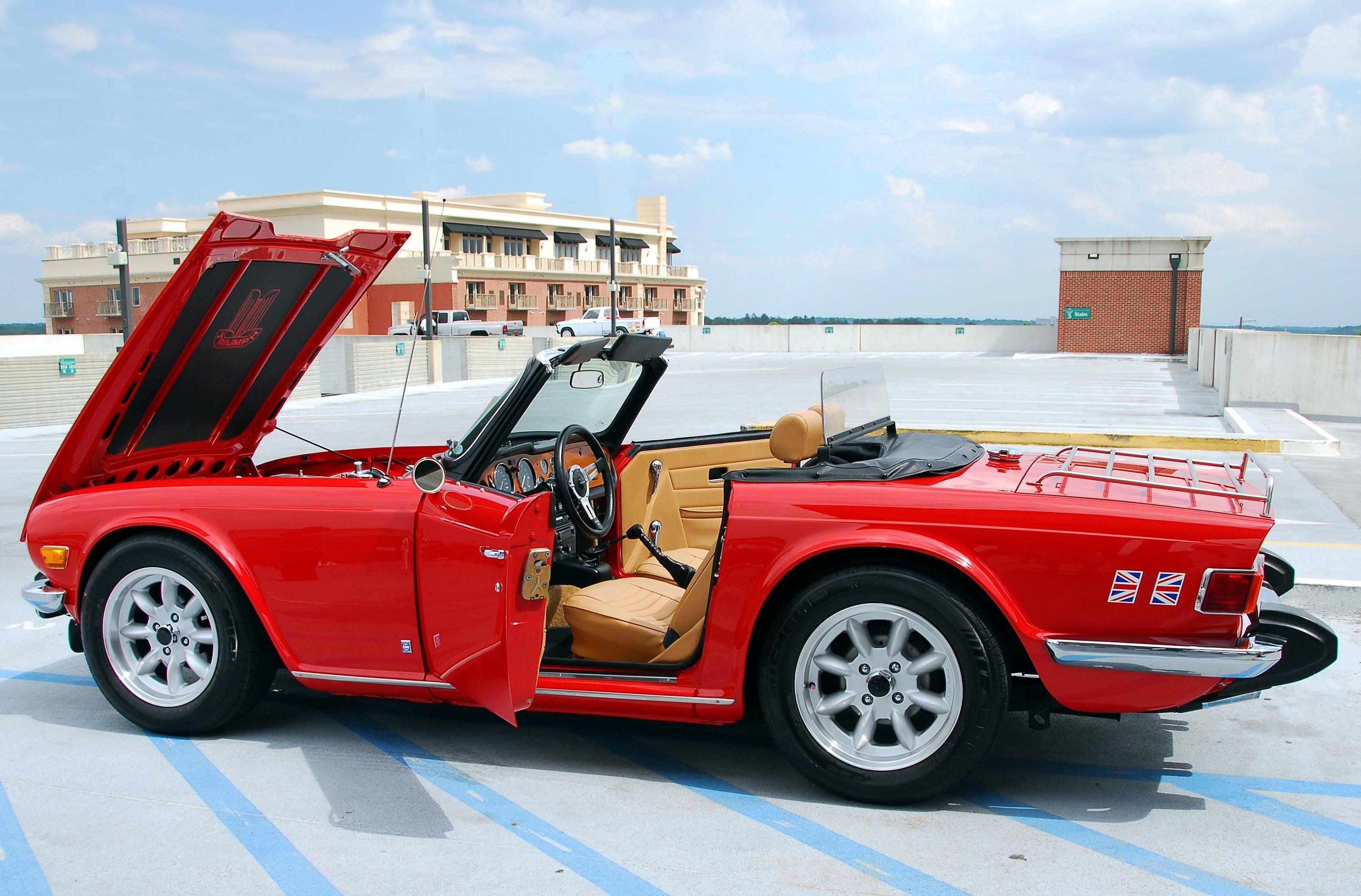 Foto d'estoc gratuïta de automòbil, automoció, britànic, chrome