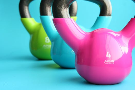 Coloured Kettlebells