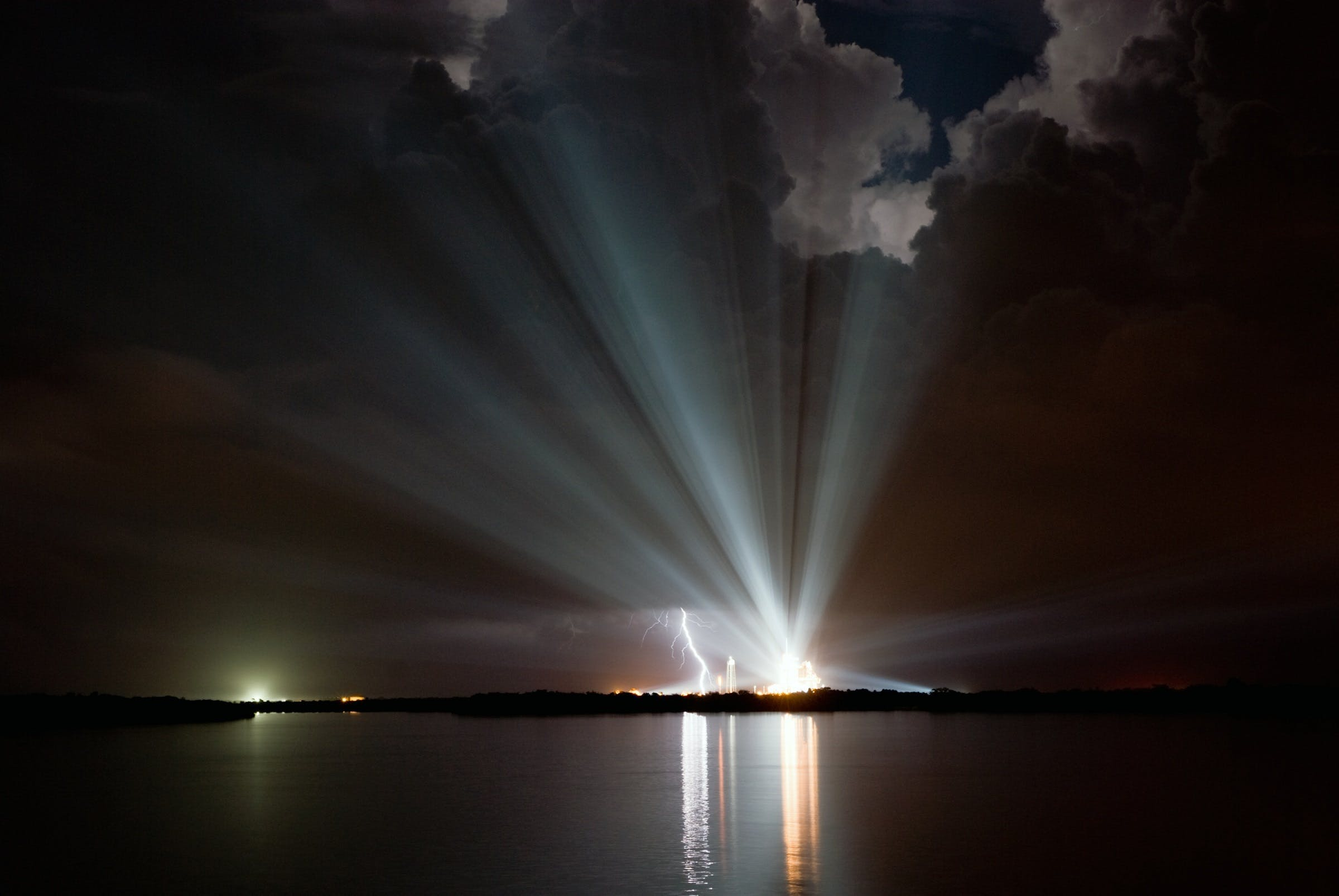 Lightning Struck Photo