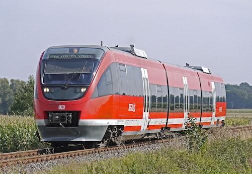 Free stock photo of road, rails, train, vehicle