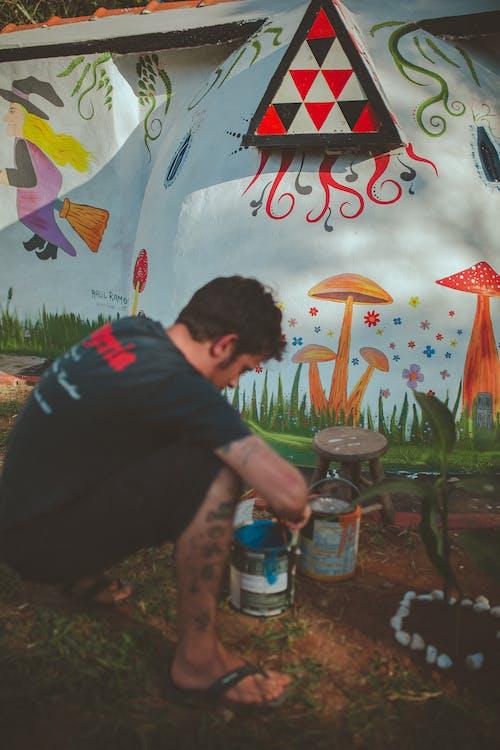 Kostnadsfri bild av behållare, dagsljus, design, festival