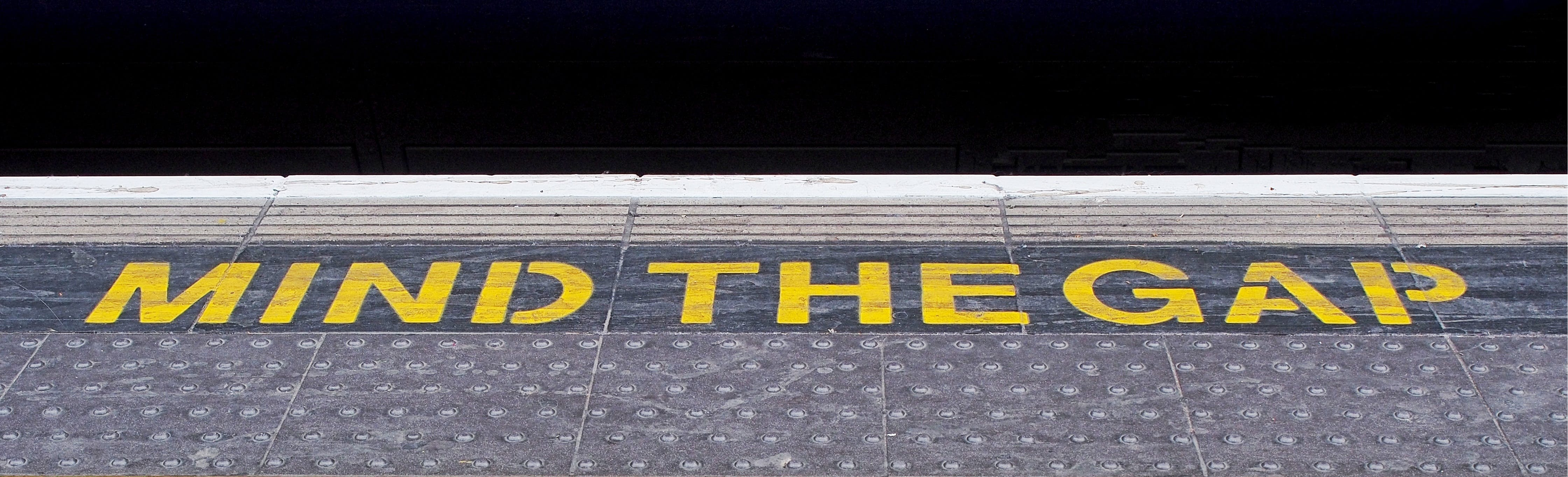 Mind the Gap Text