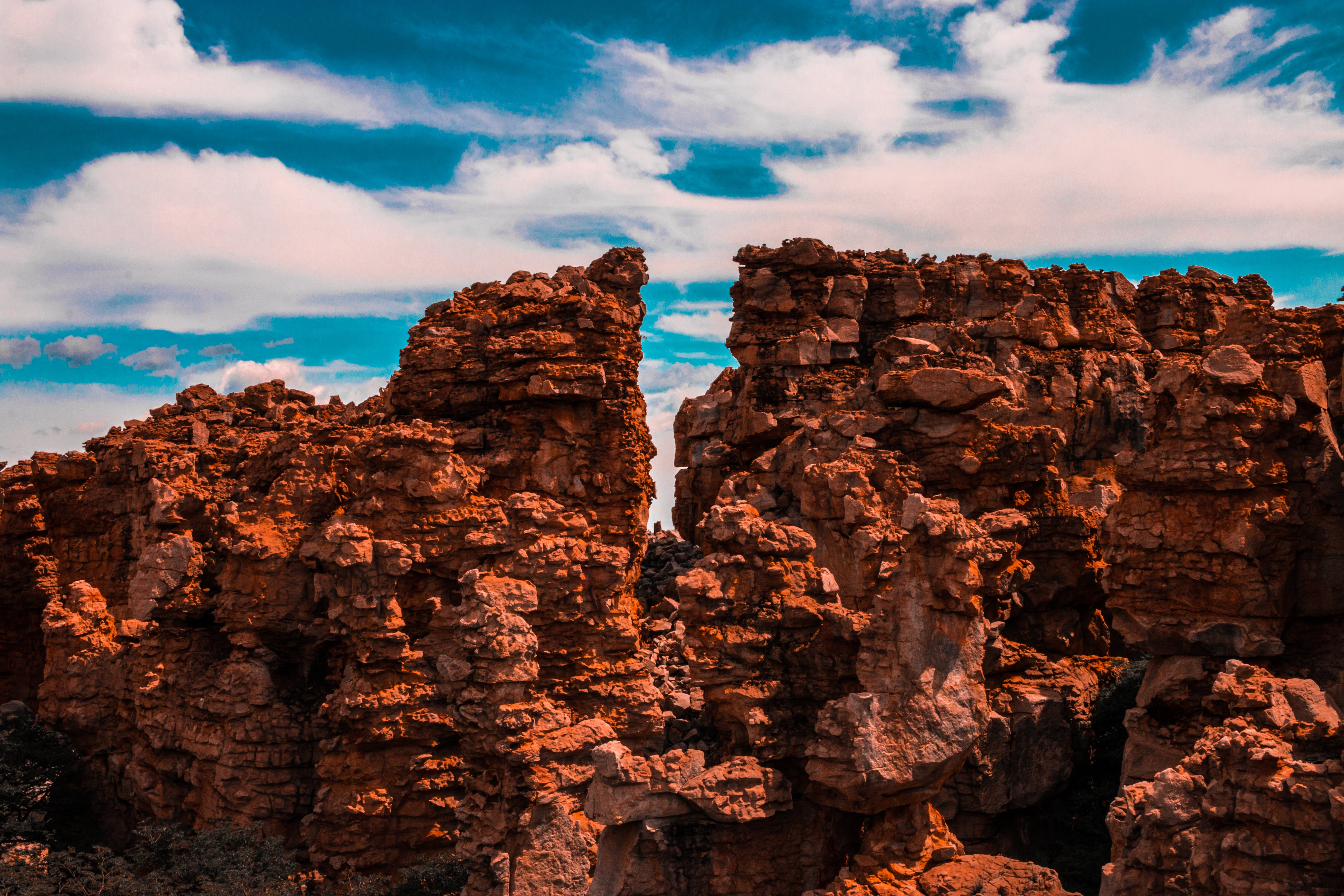 Free stock photo of geological formation, mountain, stone formation