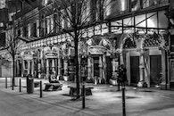 night, street, dublin