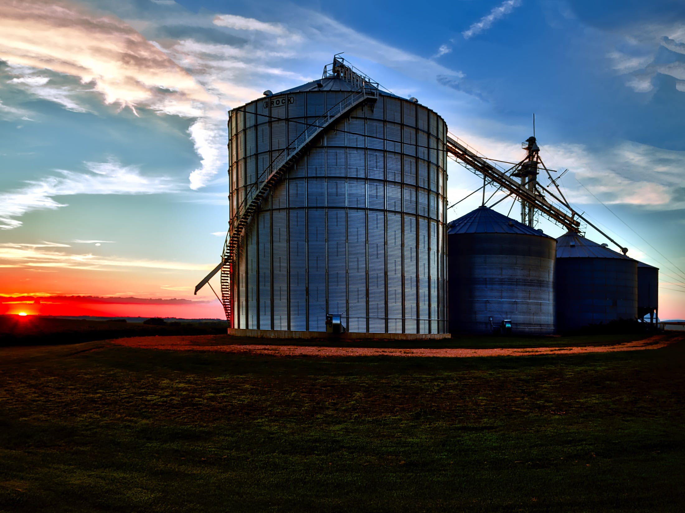 Free stock photo of dawn, building, industry, agriculture