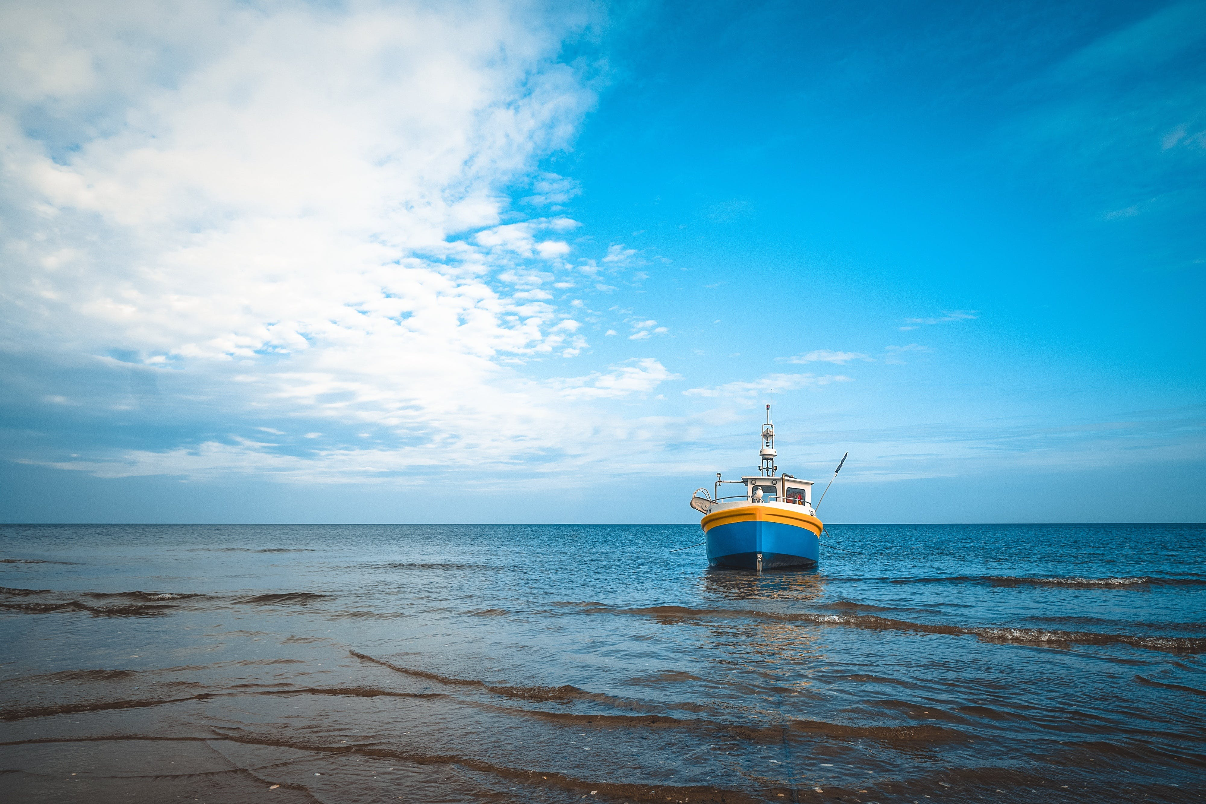 Free stock photo of fishing, light, sea, nature
