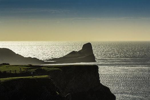 Kostenloses Stock Foto zu meer, landschaft, himmel, strand