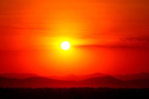 Δωρεάν στοκ φωτογραφιών με Ανατολή ηλίου, αυγή, βουνό, δύση του ηλίου