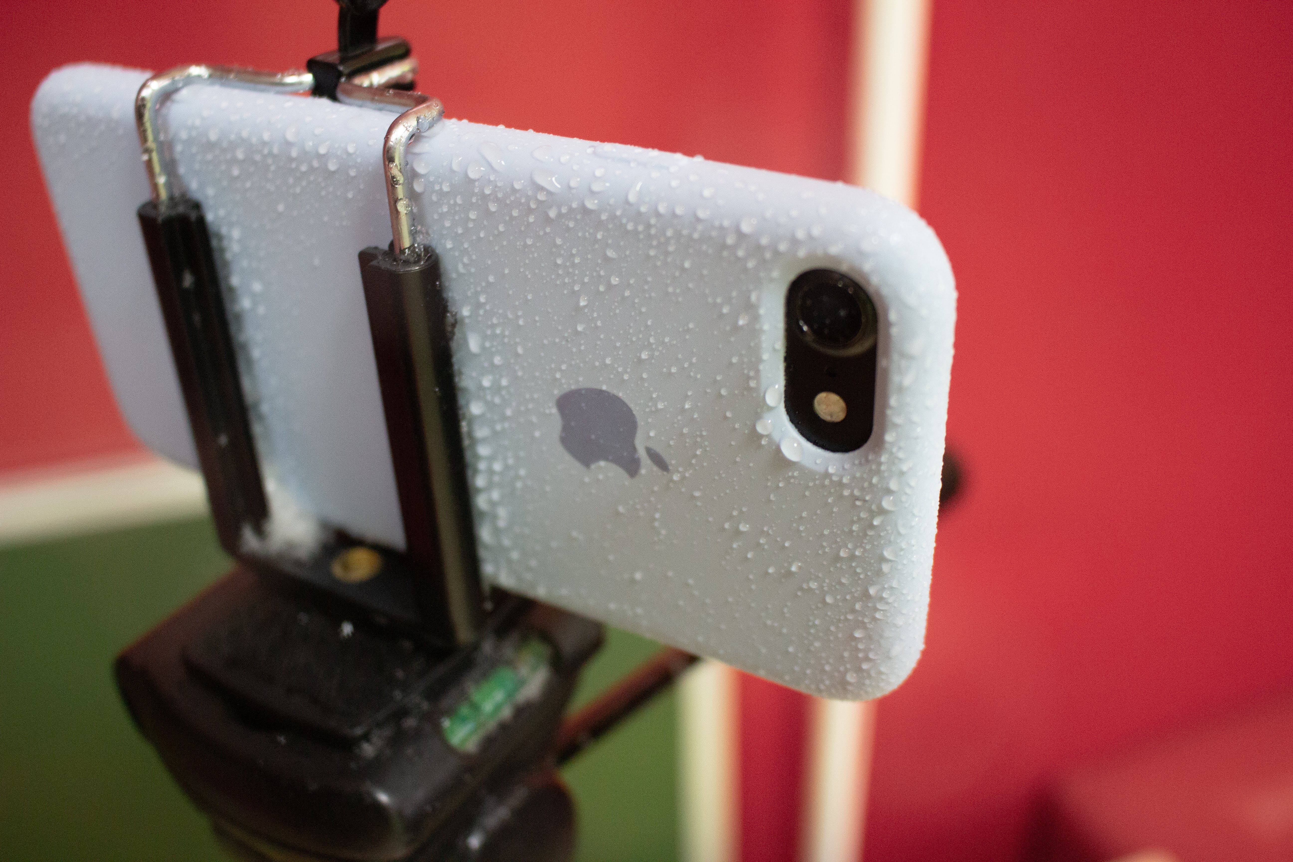 Free stock photo of apple, black, blue, camera