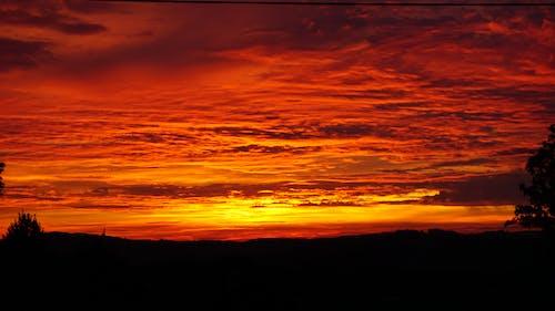 คลังภาพถ่ายฟรี ของ การระเบิดของสี, ดราม่า, ดวงอาทิตย์, ตอนเย็น
