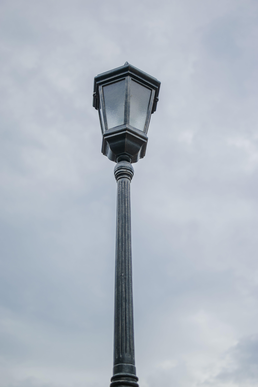 Foto stok gratis bola lampu, lampu, langit, luz