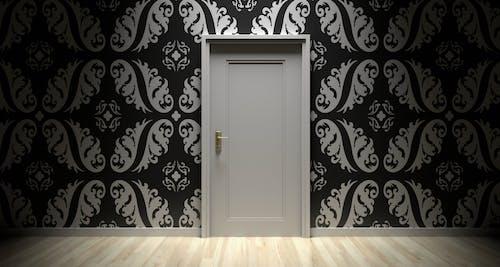 Foto d'estoc gratuïta de arquitectura, art, artístic, blanc i negre