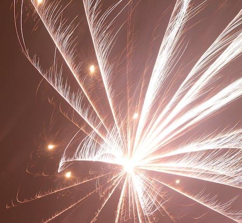 新年, 晚上, 火, 煙花 的 免費圖庫相片