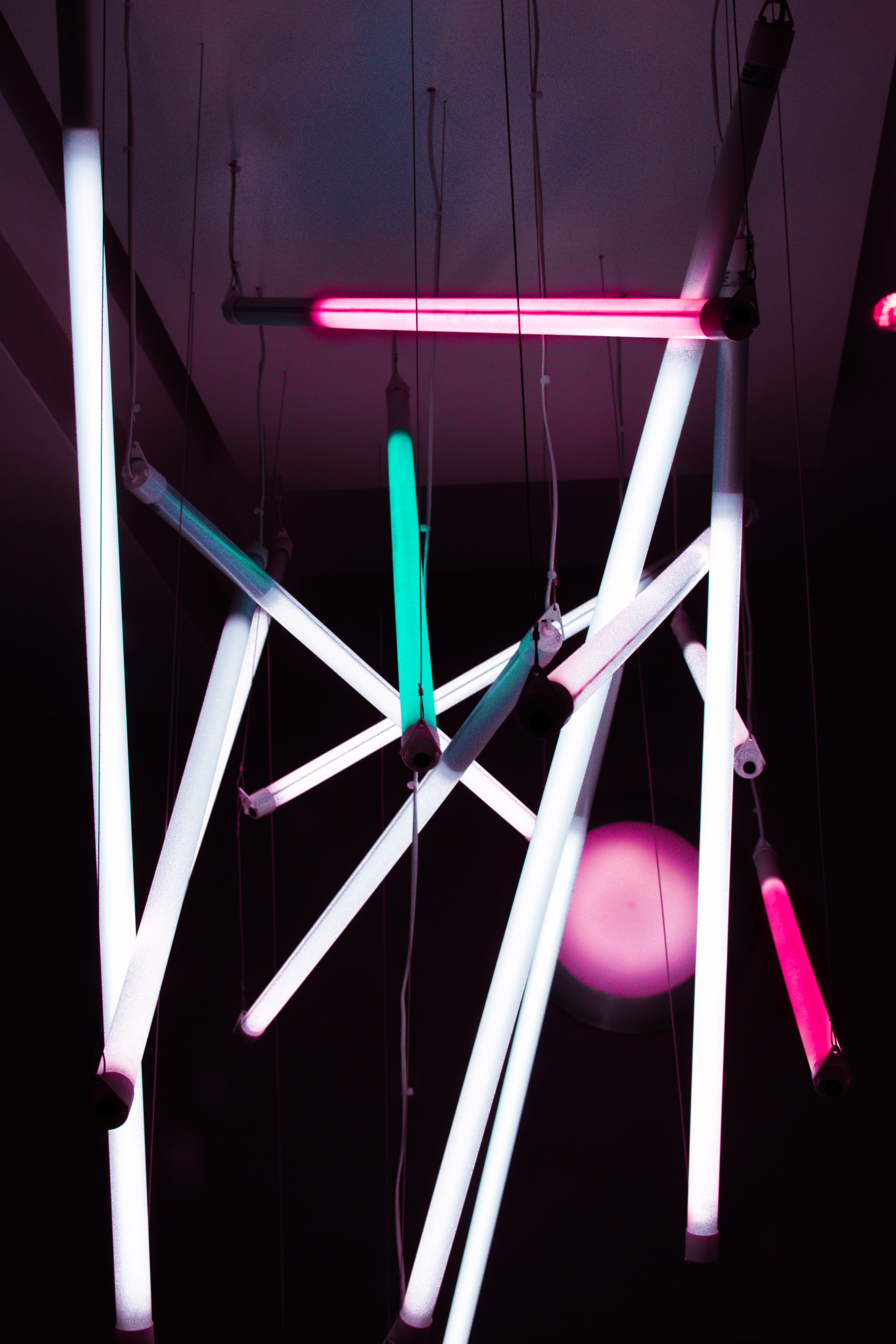Colorful Fluorescent Lamps