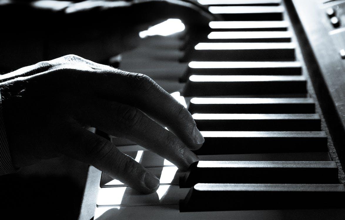 Âm nhạc, bóng, cận cảnh