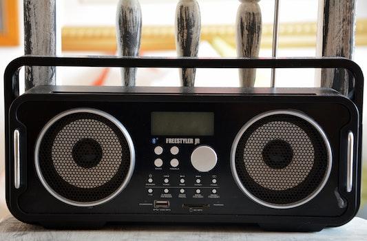 Freestyler Black Radio Stereo