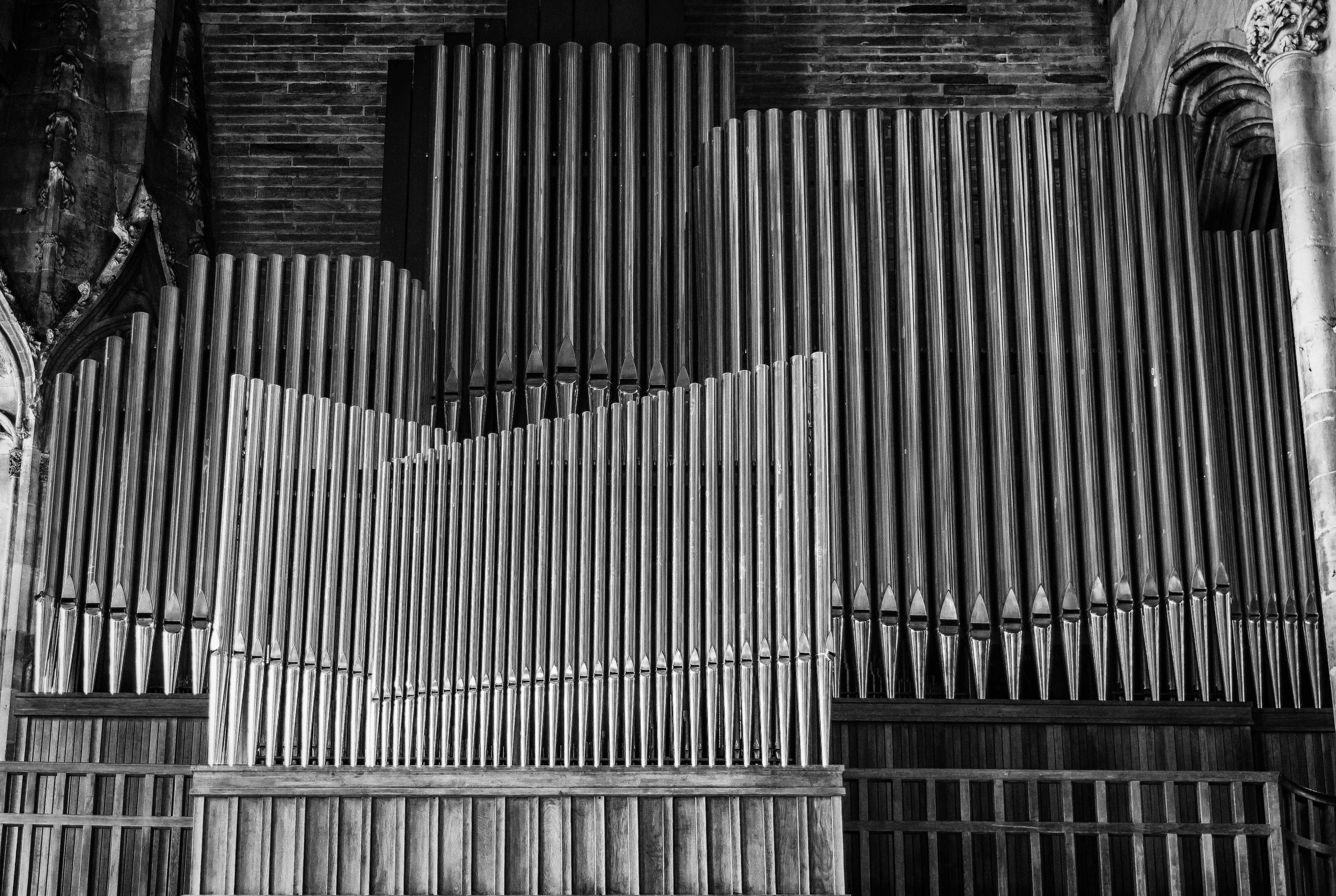 Free stock photo of black-and-white, art, building, pattern