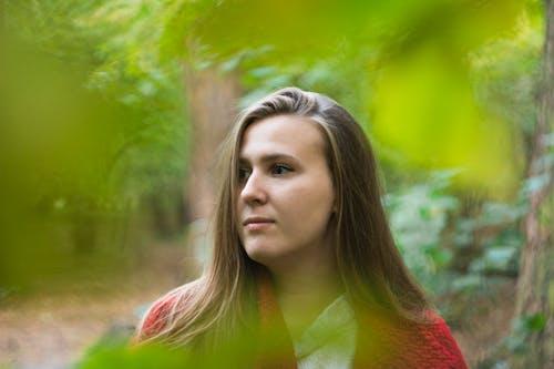 Základová fotografie zdarma na téma žena, žena v lese
