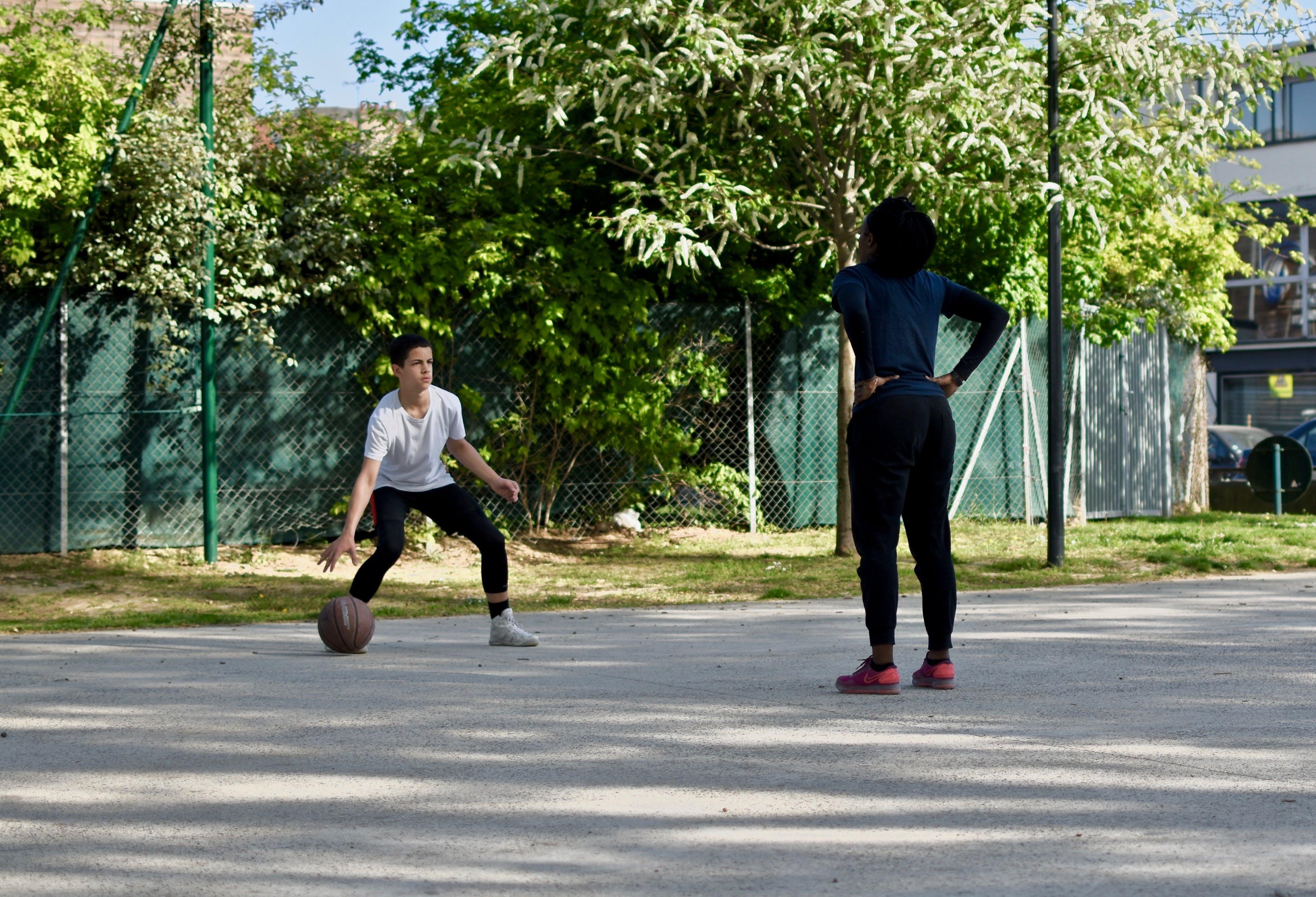 Ảnh lưu trữ miễn phí về bóng rổ, công viên, giải trí, môn chơi