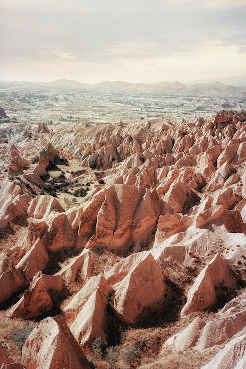 Photos gratuites de cailloux, cappadoce, dinde, nature