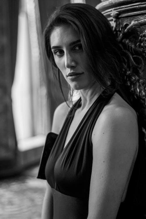 Immagine gratuita di attraente, bellezza, bellissimo, bianco e nero