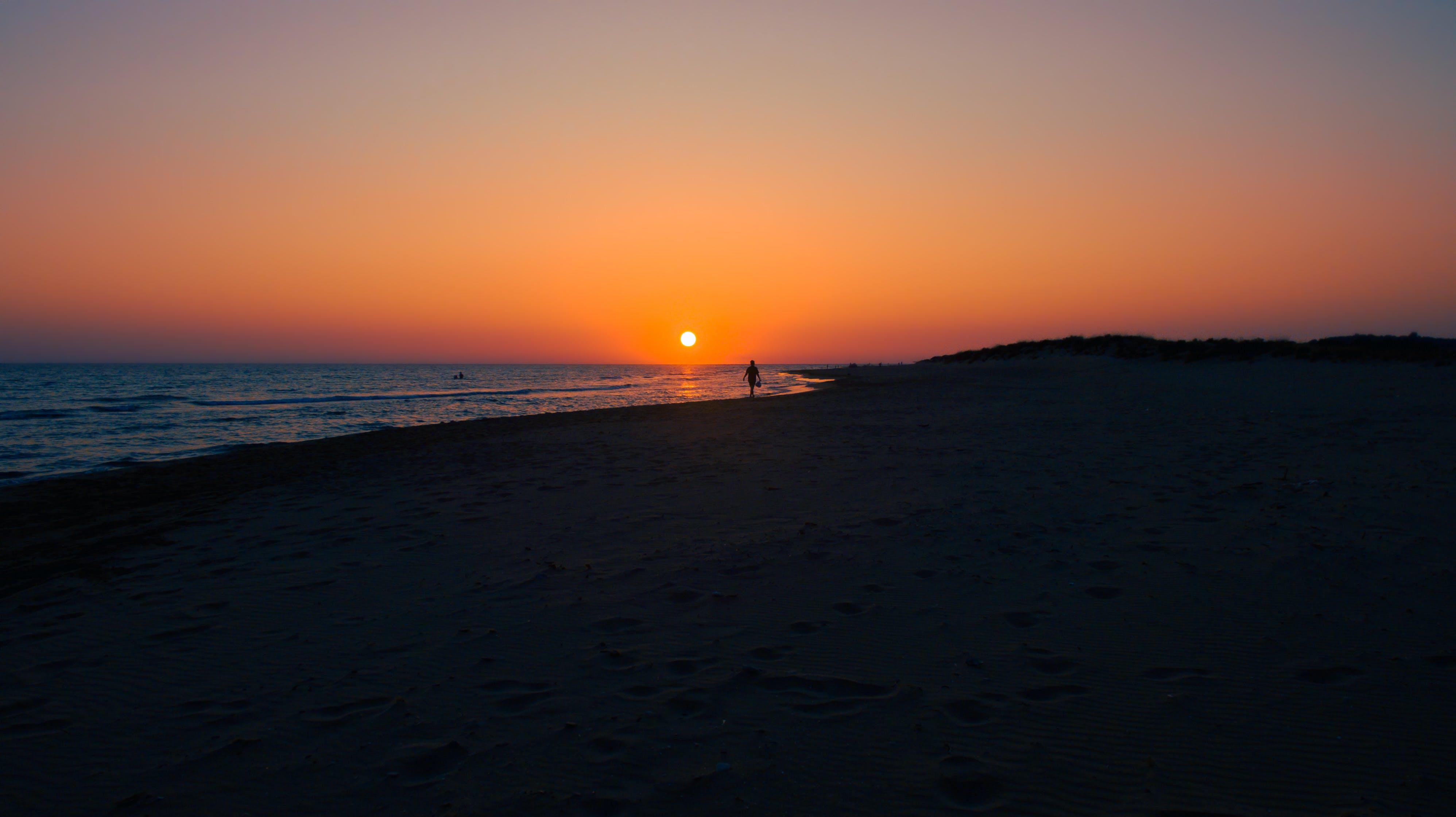 克里特島, 剪影, 天空, 太陽 的 免費圖庫相片