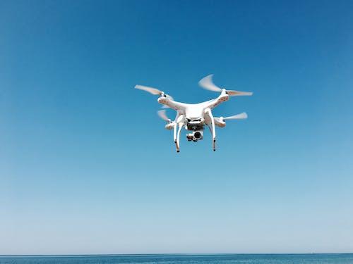Ingyenes stockfotó drón, ég, fényképezőgép, repülés témában