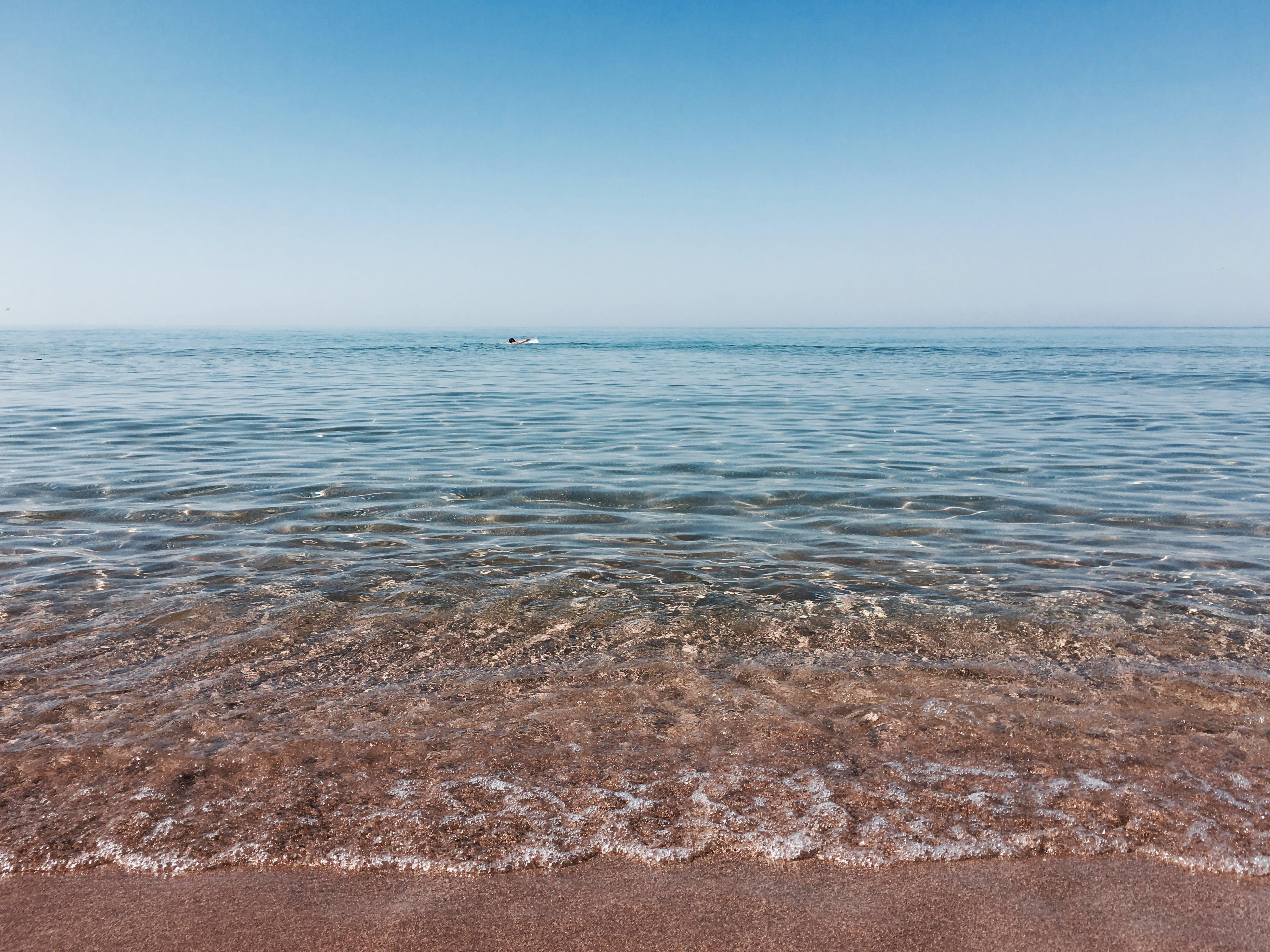 모래, 물, 바다, 바다 경치의 무료 스톡 사진