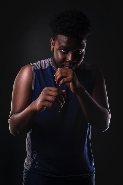 Ingyenes stockfotó afro-amerikai férfi, bokszolás, csinos, extrém sport témában