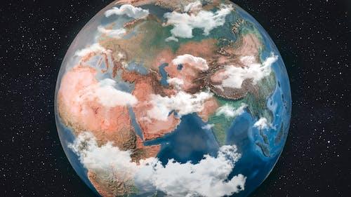 Gratis lagerfoto af geografi, jord, jorden, kugle