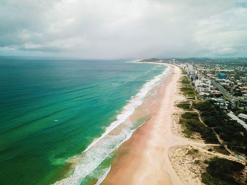 Kostnadsfri bild av Drönare, hav, strand, vatten
