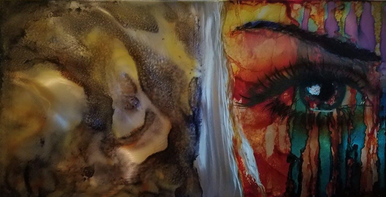 Абстрактная живопись, абстрактный, душа
