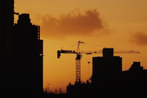剪影, 城市, 建造, 日出 的 免費圖庫相片