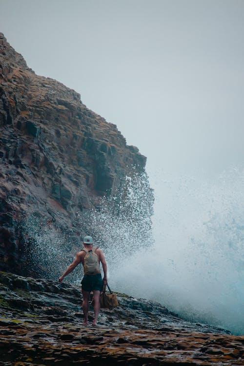 Gratis lagerfoto af bølge, eventyr, hav, person