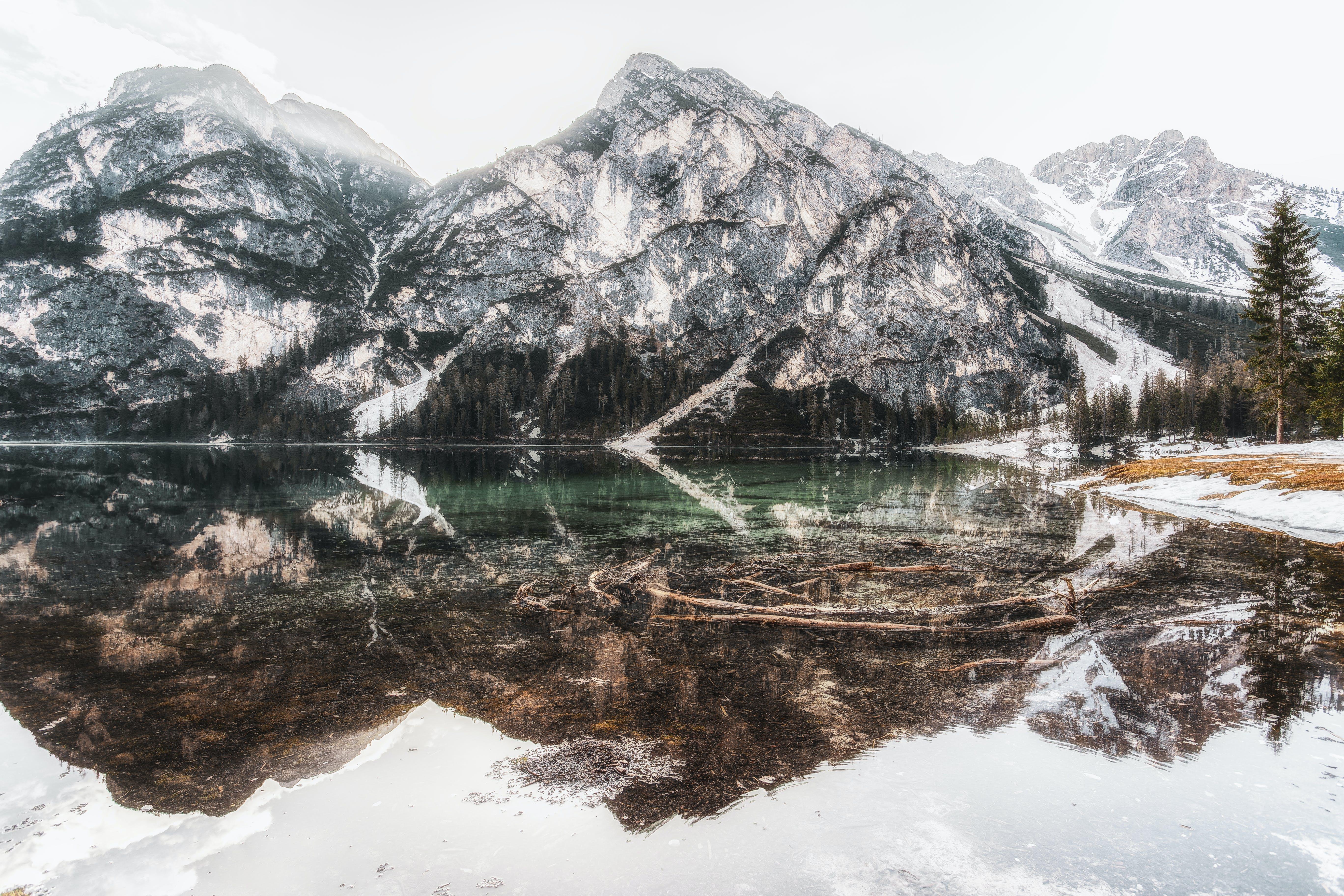 Δωρεάν στοκ φωτογραφιών με 4k ταπετσαρία, αντανάκλαση, βουνό, γραφικός