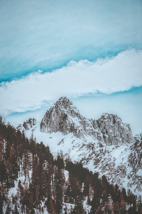 Δωρεάν στοκ φωτογραφιών με 4k ταπετσαρία, βουνό, βουνοκορφή, γραφικός
