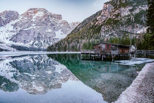 Photos gratuites de alpin, bord de lac, dolomites, espace extérieur