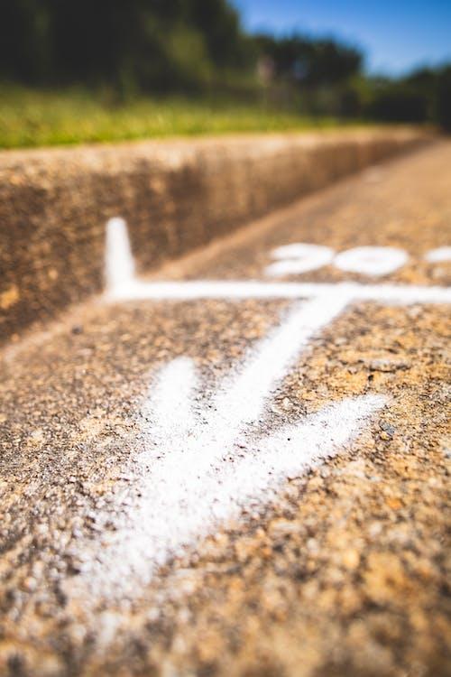 Free stock photo of street chalk, street level