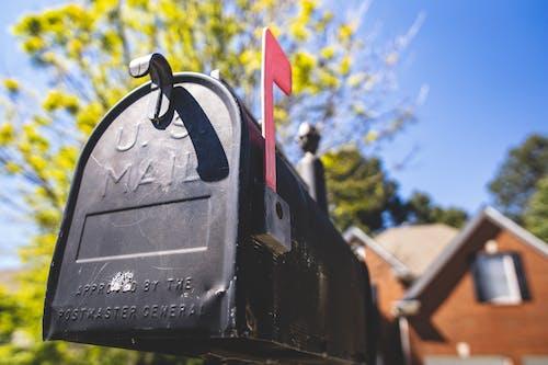 Безкоштовне стокове фото на тему «великий план, Вибірковий фокус, пошта, пошта сша»